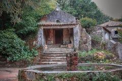 Kloster des Capuchos, Sintra stockfoto