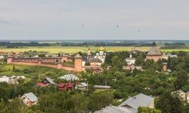 Kloster des Heiligen Euthymius Suzdal Stockbilder