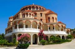 Kloster des Heiligen Nectarios Lizenzfreie Stockfotos