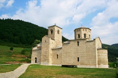 Kloster Djurdjevi Stupovi Arkivfoto