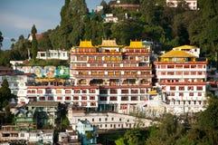 Kloster Druk Sa--NgagChoeling Stockbilder