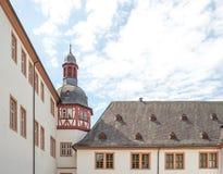 Kloster Eberbach in Deutschland, Hessen Stockfotografie