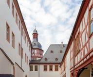 Kloster Eberbach in Deutschland, Hessen Stockfotos