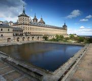 Kloster EL-Escorial, Madrid, Spanien Stockfotografie