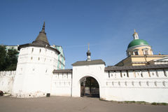 kloster för 14 danilov royaltyfri fotografi
