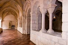 kloster för 6 hall Fotografering för Bildbyråer
