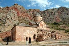 Kloster för armenier för Noravank 13 thårhundrade Arkivfoton