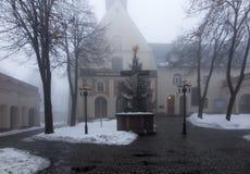 Kloster för bergSt Anna Basilica Franciscan royaltyfri foto