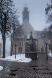 Kloster för bergSt Anna Basilica Franciscan royaltyfri bild