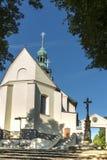 Kloster för bergSt Anna Basilica Franciscan royaltyfri fotografi