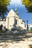 Kloster för bergSt Anna Basilica Franciscan royaltyfria foton