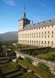 kloster för el escorial madrid nära Arkivbilder