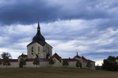 Kloster för grön kulle Royaltyfri Fotografi