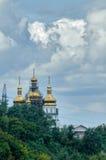 Kloster för helig Treenighet Tyumen Ryssland Royaltyfri Fotografi