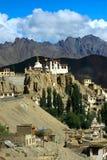 kloster för himalaya ladakhlamayuru Arkivbilder
