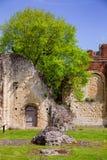 Kloster för St Augustines Abbey Benedictine återstår i Canterbury Royaltyfri Foto