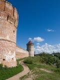 Kloster-Festung Stockbilder