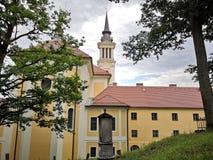 Kloster från Rumänien royaltyfri bild