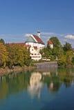 Kloster in Fuessen Stockfotografie