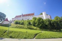 Kloster in Fussen im Bayern, Deutschland Lizenzfreies Stockbild