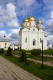 kloster gammala russia Royaltyfri Foto