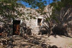Kloster Garde Baja California Mexiko San-Ignacio stockbilder