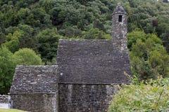 Kloster Glendalough in Irland Stockfoto
