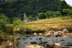 Kloster Glendalough in Irland Lizenzfreie Stockfotos