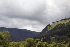 Kloster Glendalough in Irland Lizenzfreies Stockfoto