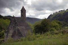 Kloster Glendalough in Irland Lizenzfreie Stockfotografie