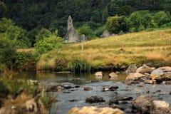 Kloster Glendalough in Irland Lizenzfreies Stockbild