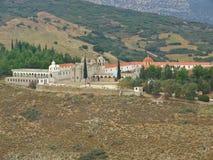 kloster greece Royaltyfria Foton