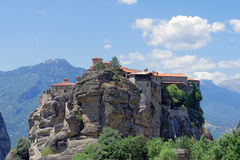 Kloster Griechenland Meteora Varlaam Stockfotos