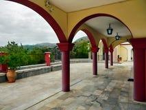 Kloster-Halle Griechenland Lizenzfreie Stockfotos