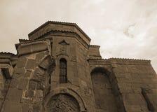 Kloster-Hauben-Ansicht Mtskheta Jvari lizenzfreie stockbilder
