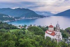 Kloster in Herceg Novi Lizenzfreie Stockfotos