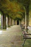 Kloster i Ilam parkerar, Dovedale Arkivfoto