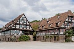 Kloster i Maulbronn i Juni 03 2014 Royaltyfri Fotografi