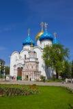Kloster i Sergiev Posad Royaltyfri Bild
