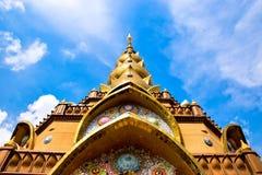 Kloster i Thailand royaltyfria foton