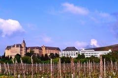 Kloster im deutschen Eiffel Stockbild