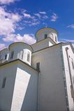 Kloster im Himmel Lizenzfreie Stockfotografie
