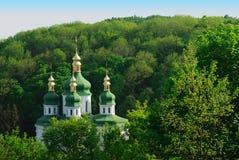 Kloster in Kiew. Ukraine Stockbild