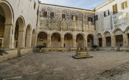 Kloster, Kloster, galatina St. Catherine Stockbilder