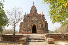 Kloster- komplex för syndByu skenben, Bagan, Myanmar Royaltyfria Foton