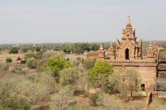 Kloster- komplex för syndByu skenben, Bagan, Myanmar Arkivfoto