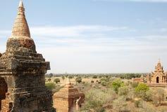 Kloster- komplex för syndByu skenben, Bagan, Myanmar Royaltyfri Fotografi