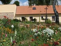 Kloster, Kostelni Vydri Royaltyfria Foton