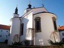 Kloster Krusedol in Serbien stockfotos