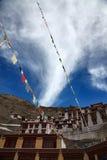Kloster in Ladakh Stockbild